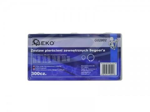 Sada poistných krúžkov GEKO G02802 300ks