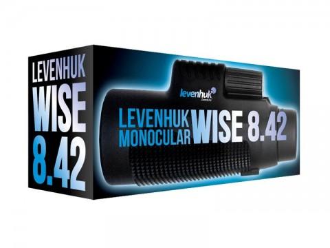 Ďalekohľad monokulárne LEVENHUK WISE 8x42