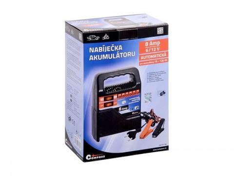 Nabíjačka akumulátorov COMPASS 07138 6/12V 8A