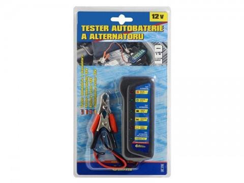 Tester autobatérie a alternátora COMPASS 07170 12V