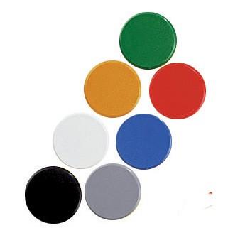 Magnet 24 mm biela