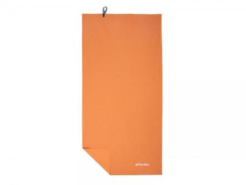 Uterák SPOKEY SIROCCO rýchloschnúci 60x120 oranžový s odnímateľnou sponou