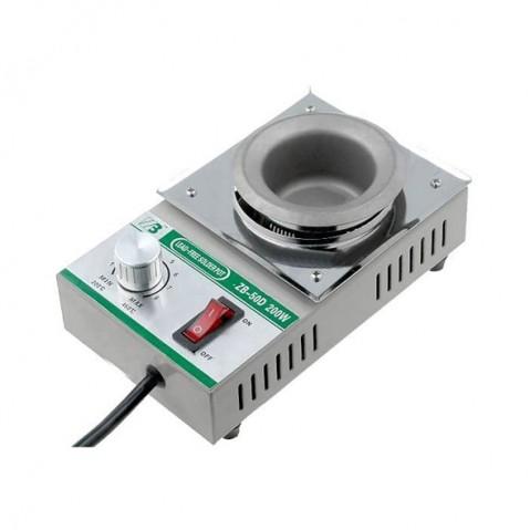 Spájkovacia kúpeľ ZB-50D pre 500g spájky, 230V/200W, bezolovnatá