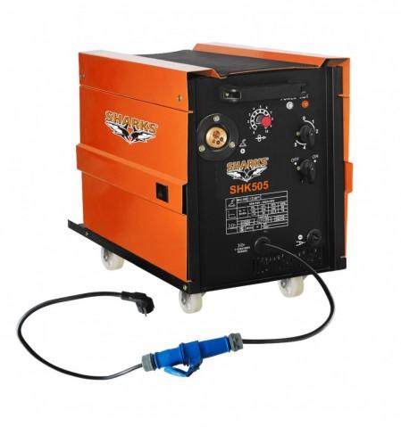 Zváračka Sharks MIG 200 pre zváranie v ochrannej atmosfére SHK505