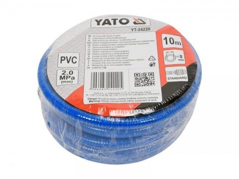 Hadica vzduchová PVC YATO YT-24220 10m