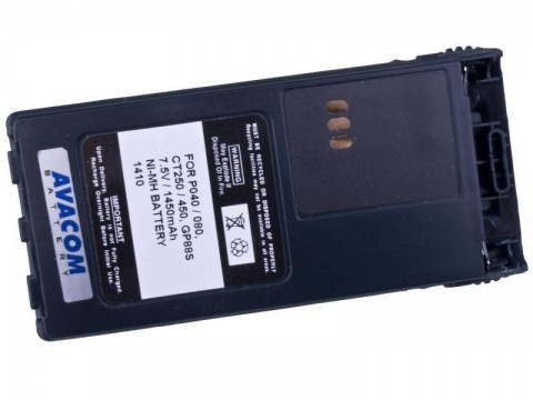 Motorola P040, P060 Ni-MH 7,5V 1450mAh AVACOM