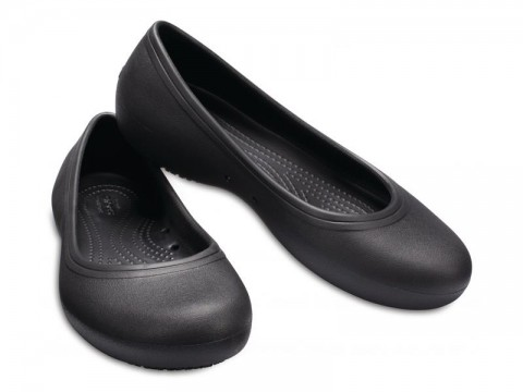 CROCS AT WORK FLAT WOMEN - Black W7 (37-38)