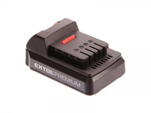 Batéria EXTOL PREMIUM 18V 1500mAh 8895600B
