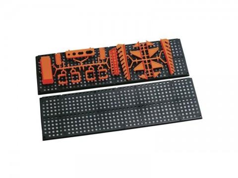 Držiak na náradie-panel plastový 790x470mm, TOOLBOARD NTB1