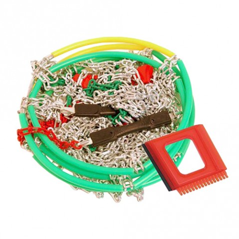 Řetězy sněhové X80 3,0mm 9mm NYLON BAG