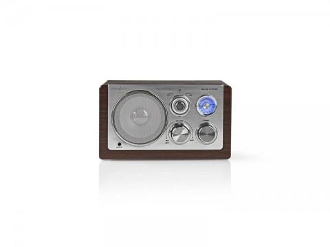 Rádio NEDIS RDFM5100BN BROWN