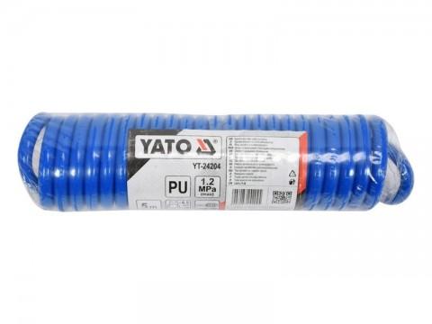 Hadica vzduchová špirálová YATO YT-24204 5m