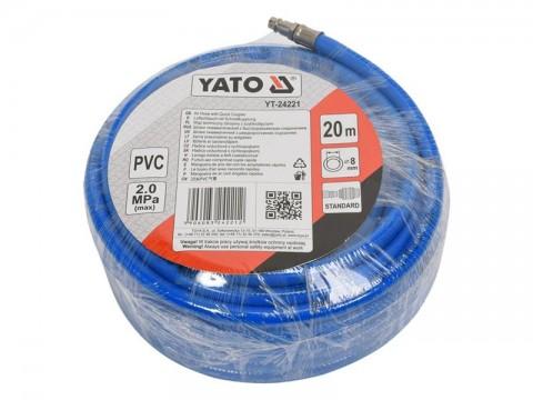 Hadica vzduchová PVC YATO YT-24221 20m