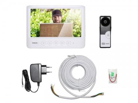 Videotelefón EVOLVEO DOORPHONE IK06 s pamäťou a farebným displejom