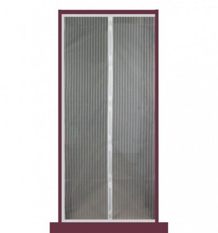 Moskytiéra do dverí 210x100cm s magnetmi-BIELÁ HS08114P002