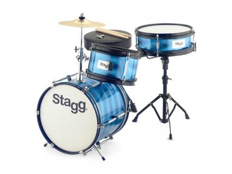 Sada bicí dětská STAGG TIM JR 3/12B BL, modrá