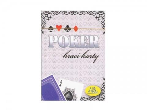 Hra karetní Albi Poker modré