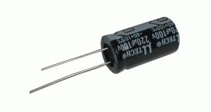 Kondenzátor elektrolytický   2G2/25V 13x21  85*