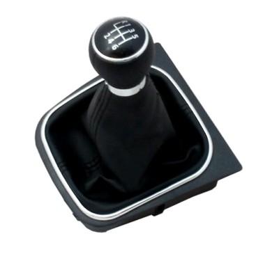 Páka radiacej s manžetou VW CADDY 2004 - 2009 6st BLACK