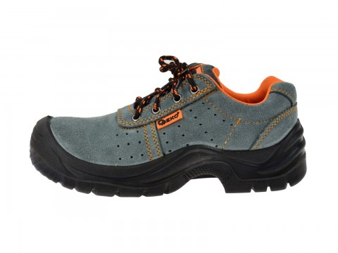 Ochranné pracovní boty semišové model č.3 vel.42 GEKO