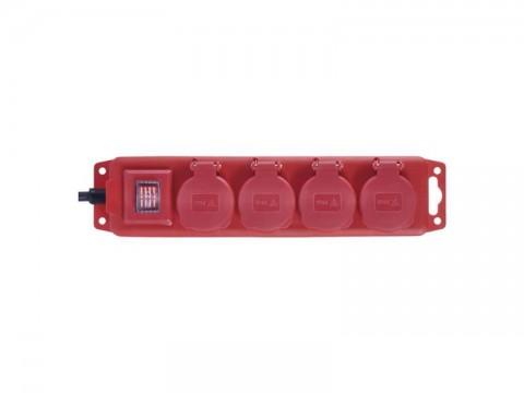 Predlžovací prívod 4 zásuvky 5m EMOS P14151