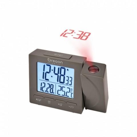 Digitální budík s teploměrem a projekcí RM512PG