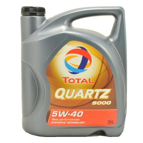 Motorový olej Total QUARTZ 9000 5W-40 5L