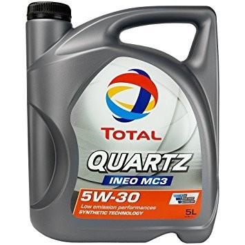 Motorový olej Total Quartz INEO MC3 5W-30 5 l