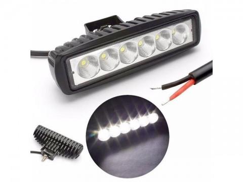 Svetlo na pracovné stroje LED T759, 10-30V/18W