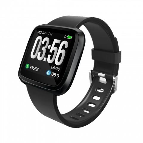 Fitness náramek / hodinky s měřením tepové frekvence GARNI Q-121HR
