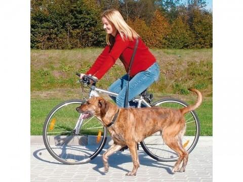 Vodítko pre psov TRIXIE na bicykel