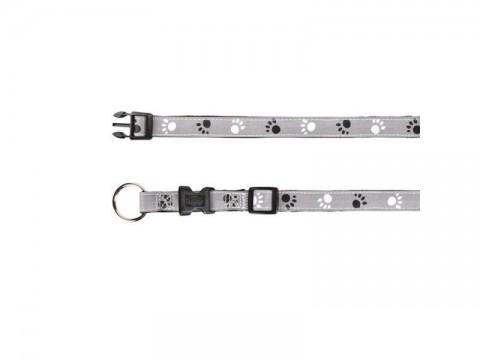 Obojok reflexný TRIXIE SILVER REFLECT XS / S 22 - 35 cm