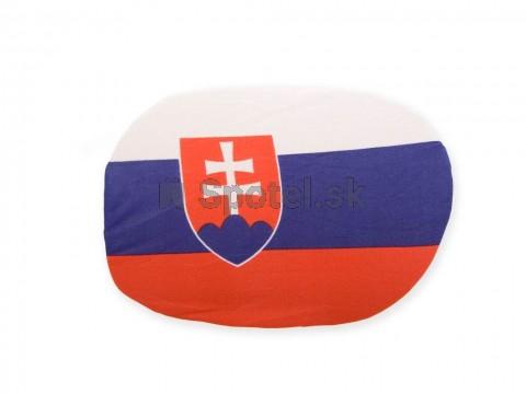 Návlek na zrcátko vlajka SK - 2ks