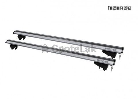 Strešný nosič MENABO LINCE 135cm Silver na hagusy