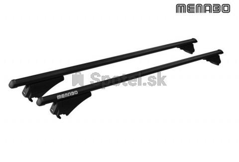 Strešný nosič MENABO TIGER 135cm Black na hagusy
