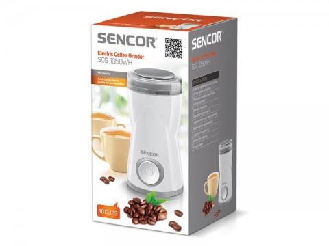 Kávomlynček SENCOR SCG 1050WH biely