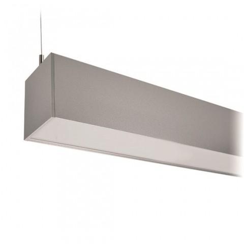 LED závesné osvetlenie Solight WPR-36W-001, 36W, 3060lm, 118cm, 3 roky záruka, strieborná farba