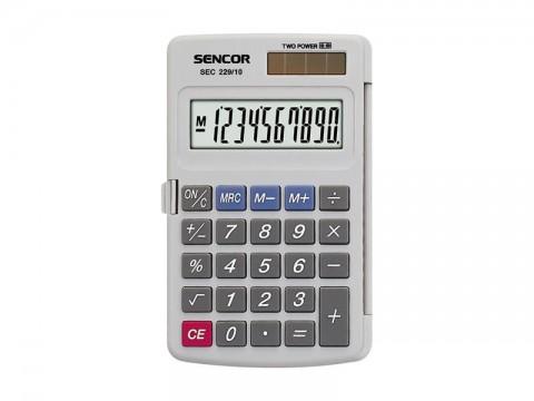 Kalkulátor kapesní SENCOR SEC 229/ 10 DUAL