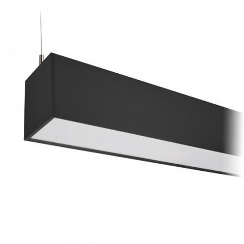 LED závesné osvetlenie Solight WPR-36W-002, 36W, 3060lm, 118cm, 3 roky záruka, čierna farba