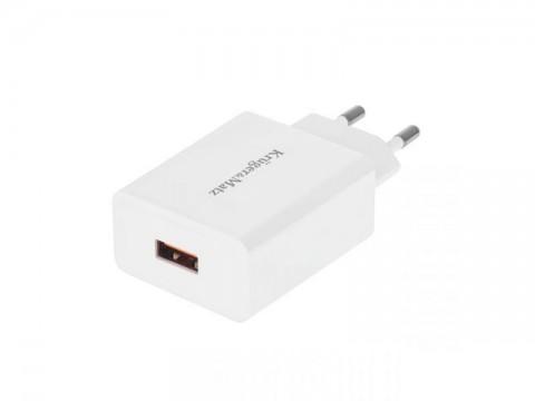 Adaptér sieťový KRUGER & MATZ KM0132 s funkciou Quick Charge 3.0
