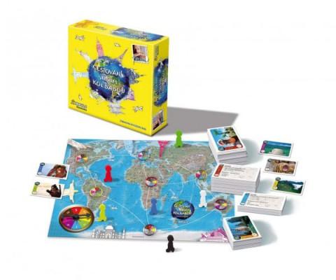 Vzdelávacie hra BONAPARTE Cestovanie s Jirkou Kolbabou