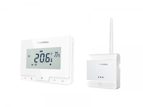Termostat SASWELL T19 7 RF W -APP bezdrôtový
