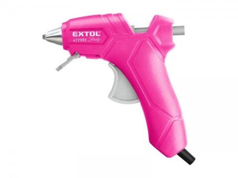 Pištoľ lepiaca EXTOL LADY 422003 25W