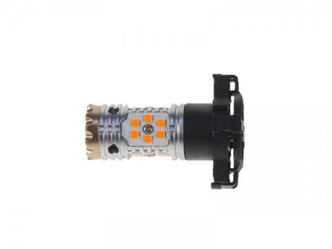 Autožiarovka LED PY24W 12/24V STU oranžová
