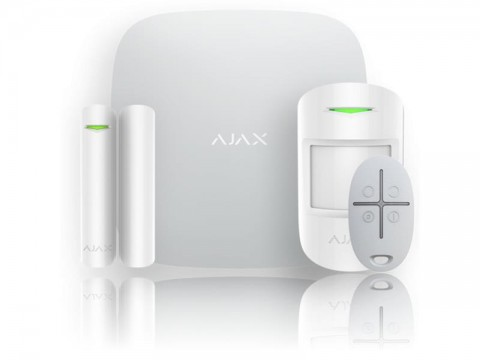 Alarm domovní AJAX StarterKit white 7564