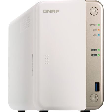 QNAP NAS Server TS-251B 4GB 2xHDD