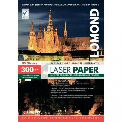 LOMOND Papier laser lesklý, 300 g/m2 A4, 150 hár