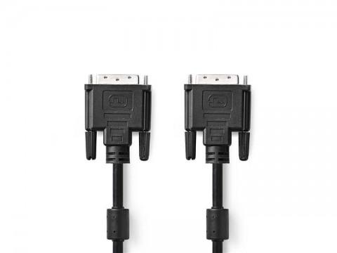 Kábel 1x DVI konektor - 1x DVI konektor 2m NEDIS