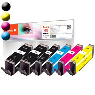 PEACH Canon PGI-550/CLI-551, PEA, Multi-Plus