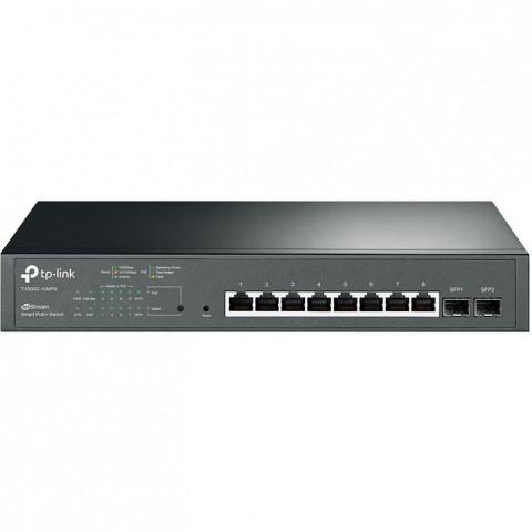TP-Link Switch 8-Port/1000Mbps/Rack/PoE+